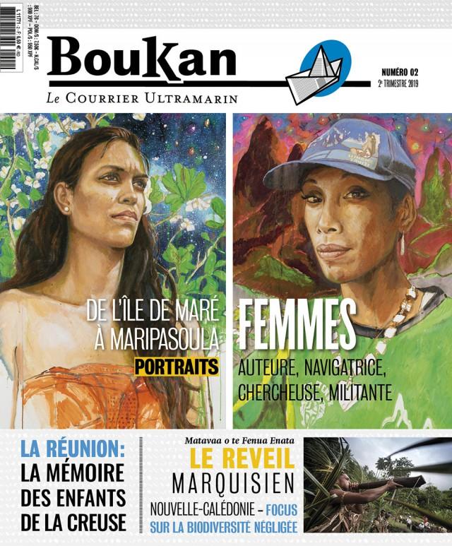 Le nouveau numéro (N°2) de Boukan : est en vente