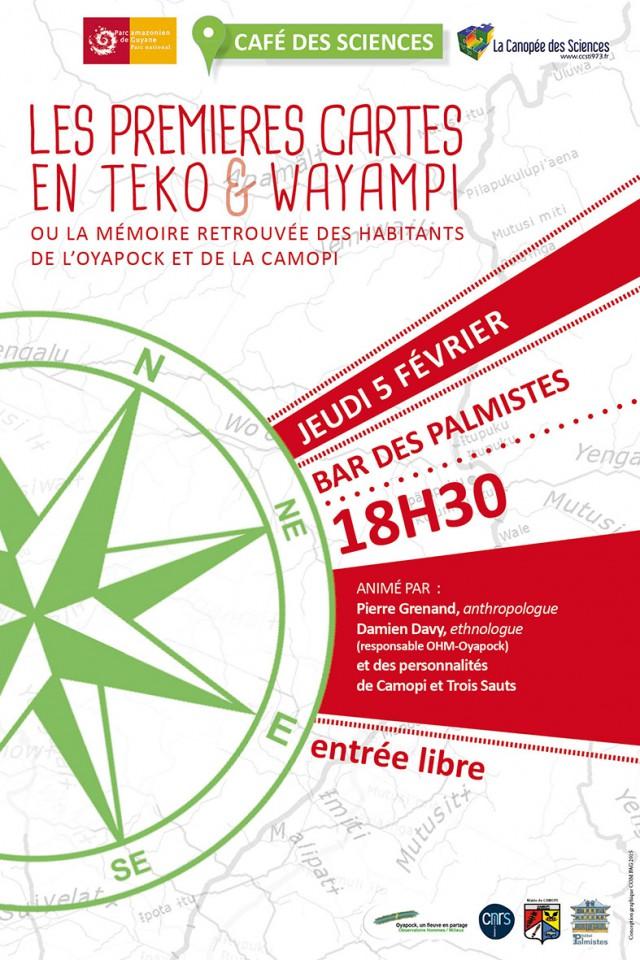 Café des Sciences: Réalisation des premières cartes en langue teko et wayãpi