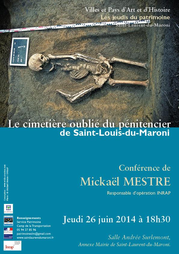 Conférence_jeudi_du_patrimoine_l  e cimetière oublié du pénitencier_de_Saint-Louis-du-Maroni