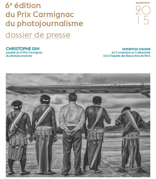 Exposition Colonie, par Christophe Gin : Lauréat du 6ème prix Carmignac de photojournalisme