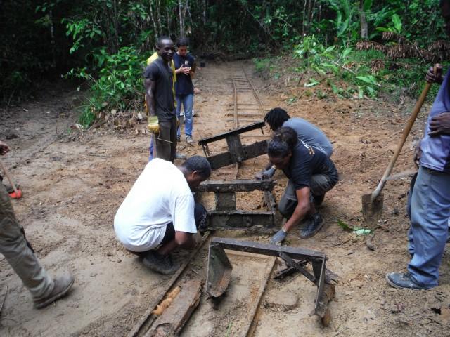 Réhabilitation du Bagne des Annamites : l'association CHAM termine la première phase des travaux