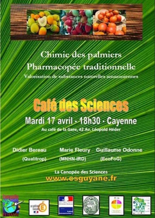 Café des sciences : valorisation de substances naturelles amazoniennes