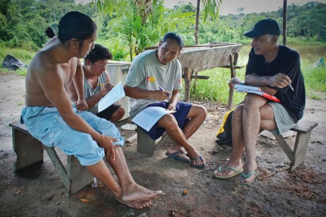 Ressources naturelles : Gestion participative avec le Parc Amazonien de Guyane