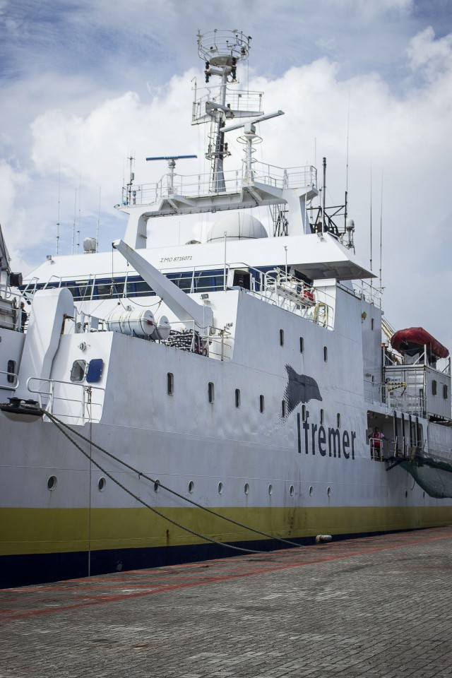 Mission MARGATS : comprend la géologie des abysses océaniques des Guyanes