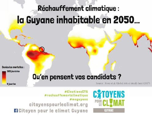 Mettre le climat et l'environnement :au cœur des élections CTG 2021