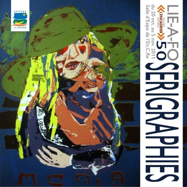 Exposition : Sérigraphies de John LIE-A-FO du 20 octobre au 05 novembre