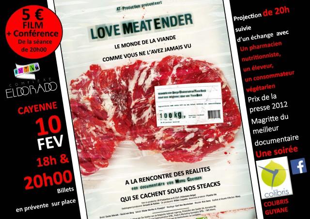 Film documentaire et conférence autour du monde de la viande
