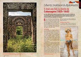 Liberté, trahison & diplomatie : Il était une fois la révolte de  Cabanagem (1835-1840)