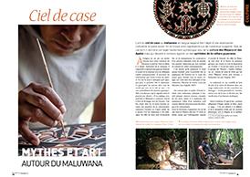 Ciel de case:Mythes et Art  autour du maluwana