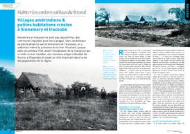 Habiter les cordons sableux du littoral : Villages amérindiens et petites habitations créoles à Sinnamary et Iracoubo