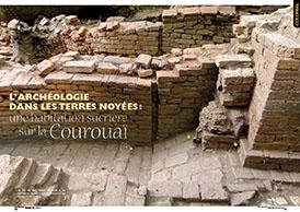 L`archéologie dans les terres noyées: une habitation sucrière sur la Courouaï