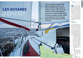 Les Guyanes : à la voile