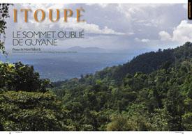 Itoupé : le sommet oublié de Guyane