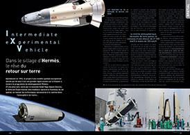 Intermediate Experimental Vehicle (IXV): Dans le sillage d'Hermès, le rêve du retour sur terre