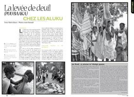 La levée de deuil (PUU BAAKA) : Chez les Aluku