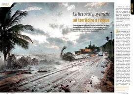 Le littoral guyanais : un territoire à risque
