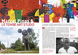 Marcel Pinas & le Tembe Art Studio