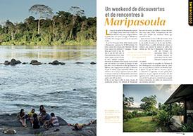 Un week-end de découvertes et de rencontres à Maripasoula