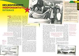 Les mouvements indépendantistes guyanais