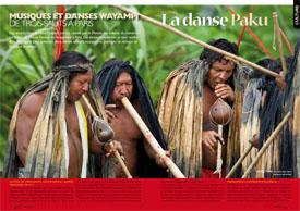 Musiques et danses Wayampi : de Trois-Sauts à Paris