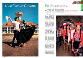 Lima-Manaus-Cayenne : Destins péruviens