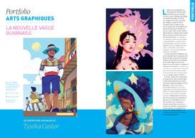Portfolio Arts graphiques : La nouvelle vague guyanaise