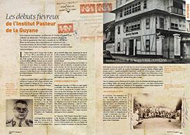 Les débuts fiévreux de l'Institut Pasteur de la Guyane