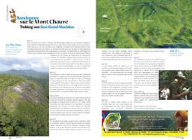 Randonnée sur le Mont Chauve : Trekking vers Saut Grand Machikou