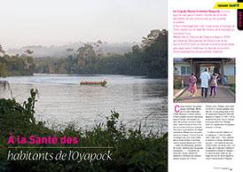 À la Santé des : habitants de l'Oyapock