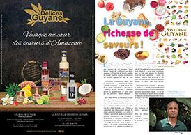 La Guyane : richesse de saveurs