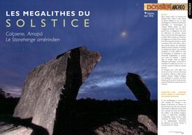 Solstice Megaliths : Calçoene, Amapá  The Amerindian Stonehenge