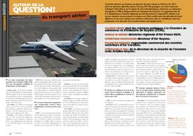 Autour de la question? : du transport aérien