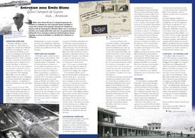 Entretien avec Emile Blanc: Quand l`aéroport de Guyane était ... Américain