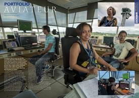 Portfolio Aviateur