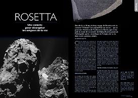 Rosetta: Une comète pour décrypter les origines de la vie
