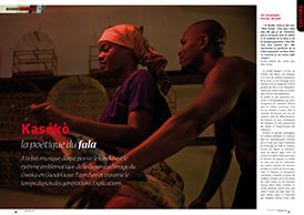 Kasékò : la poétique du fala