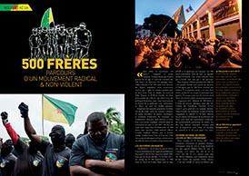 500 frères : parcours d`un mouvement radical & non-violent