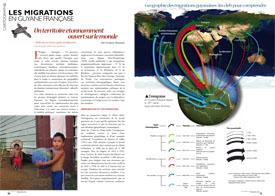 Les migrations en Guyane française : Un territoire étonnamment ouvert sur le monde