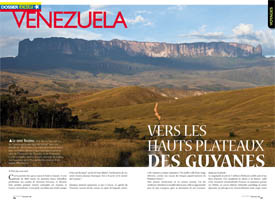 Venezuela : Towards the Guiana Highlands