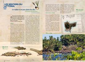 A salvação não esta nas ilhas : Historia de evasão