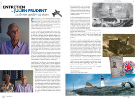 Interview with Julien Prudent : The last lighthouse keeper