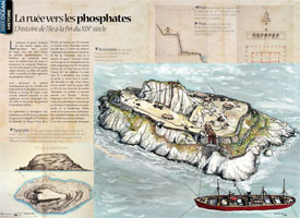 The phosphate rush : The history of the island in the late 19th century