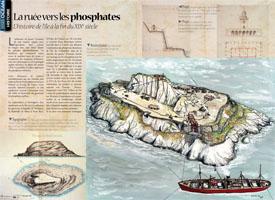 La ruée vers les phosphates : L'histoire de l'île à la fin du XIXe siècle