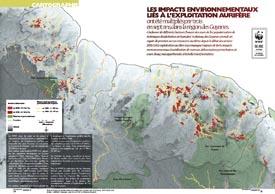 Les impacts environnementaux liés à l'exploitation aurifère : dans la région des Guyanes