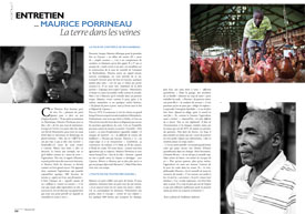 Entretien avec Maurice Porrineau : La terre dans les veines