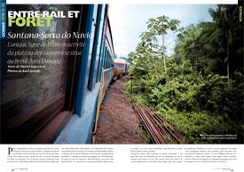 Entre rail et forêt : Santana-Serra do Navio