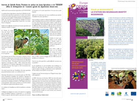 Interview : Gabrielle Nicolas, Présidente du syndicat des Jeunes Agriculteurs et de l'ODEADOM