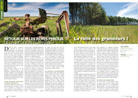 retour sur Les rêves perdus de l'agriculture guyanaise :  La folie des grandeurs ?