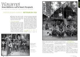 Wayampi, Amérindiens sur le haut-Oyapock : Rétrospective historique & portfolio de Jean Hurault