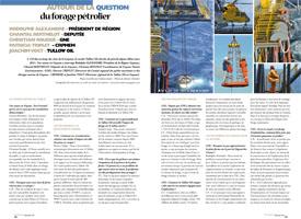 Autour de la question : du forage pétrolier